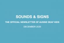 Sounds & Signs - December