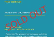 Webinar - sold out