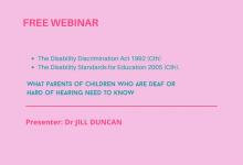 Disability Discrimination Webinar