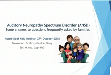 ANSD - A webinar for parents