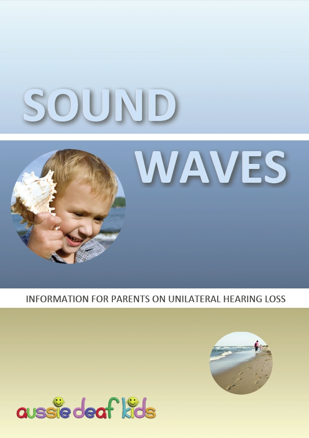 Sound Waves booklet cover